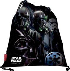 Zwarte Star Wars gymtas / zwemtas 36cm