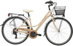 28 Zoll Damen Trekking Fahrrad 18 Gang Adriatica Sity 3 Lady Adriatica Pfirsich
