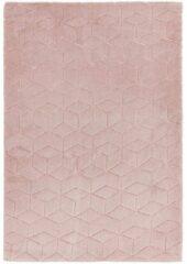 Eazy Living Easy Living - Cozy-Rug-Pink Vloerkleed - 160x230 cm - Rechthoekig - Laagpolig Tapijt - Modern, Retro - Roze
