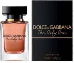 D&G Dolce gabbana The Only One 50 ml Eau De Parfum EDP Profumo Donna