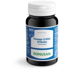 Bonusan Omega 3 MSC Krillolie 60 softgel capsules