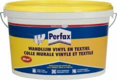 Transparante Perfax Vinyl/Textiel Wandlijm