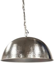 Van de Heg - Hanglamp Hammered Big - Zilver - E27 - IP20 - Dimbaar > lampen hang | hanglamp eetkamer | lamp