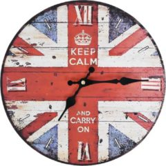VidaXL Keukenklok vintage-stijl 30 cm UK