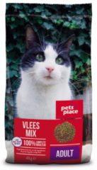 Pets Place Kat Adult - Kattenvoer - Vleesmix - 4 kg