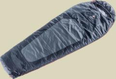 Deuter Dream Lite 500 leichter Kunstfaserschlafsack bis Körpergröße 185 cm, RV links titan-black