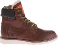 HIP Shoe Style Jongens Enkelboots Gevoerd - Bruin - Maat 34