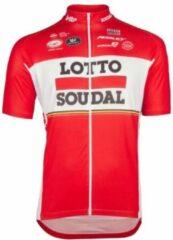 Rode Fietstrui Lotto Soudal Vermarc Maat XXL