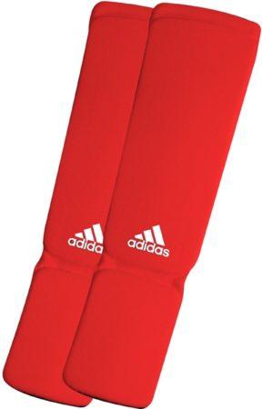 Afbeelding van Adidas Shin-n-Step Pad Elastic - Scheenwreefbeschermer - XS - Rood