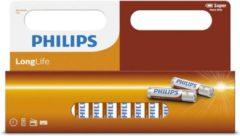 Witte Philips longlife batterijen - 48-pack - AAA - Potlood