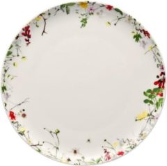 Witte ROSENTHAL - Brillance Fleurs Sauvages - Ontbijtbord 21cm coupe