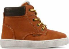 Bruine Develab 41855 Cognac Nubuck Boots veter-boots