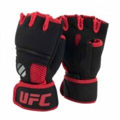 UFC Contender Quick Wrap Binnenhandschoenen Met Gel-Padding - Zwart/Rood - L/XL