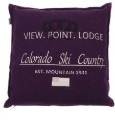 Paarse In The Mood Colorado - Sierkussen - 50x50 cm - Paars