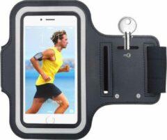 Pearlycase Oppo A73 5G Hoesje - Sportband Hoesje - Sport Armband Case Hardloopband Zwart