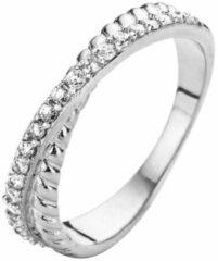 Velini jewels -R6221W-50 -Ring -925 Zilver rosé -Cubic Zirkonia