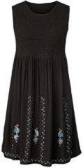 Kleid mit Stickerei Angel of Style Schwarz