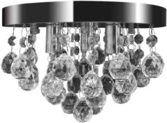 Transparante VidaXL Plafondlamp kroonluchterontwerp kristal chroom