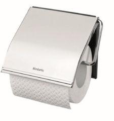 Zilveren Brabantia Classic toiletrolhouder - Brilliant steel