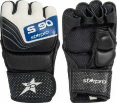 Zwarte Starpro Grappling Handschoenen Maat 12 Oz