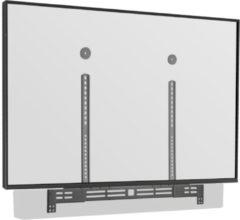 Zwarte Cavus SBU03 Universele Soundbar beugel met hoogte en diepte instelling - Geschikt voor Soundbars met een ophangsysteem aan de achterzijde - VESA