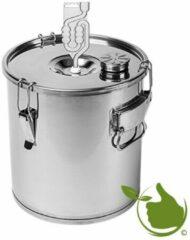 Roestvrijstalen Natuurlijkerleven Brouwketel fermentatie en destillatie - RVS nr.18l