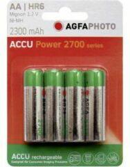 AgfaPhoto HR06 Oplaadbare AA batterij (penlite) NiMH 2300 mAh 1.2 V 4 stuk(s)