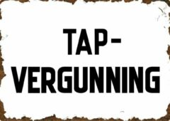 Witte Signs of Time Tap-vergunning