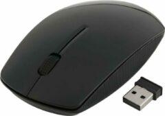 Indena 2.4G muis USB Draadloze en muizen 1600 DPI muis voor PC Laptop Computer G-196 -zwart