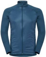 Jacke Velocity Element Light aus wasserabweisendem Polyester Odlo Poseidon-Blue Jewel