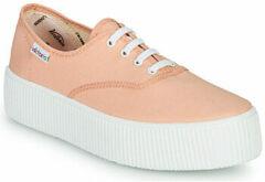Oranje Lage Sneakers Victoria DOBLE LONA