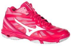 MIZUNO Volleyballschuhe Wave Hurricane Mid Damen pink, Größe: 37