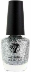 Zilveren W7 Nagellak - nr. 5 Silver Dazzle 15 ml