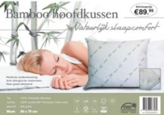 Huismerk Premium Hoofdkussen Bamboo - 60 x 70 cm