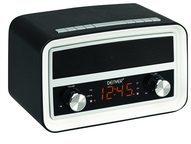 Denver CRB-619 Uhrenradio mit Bluetoothfunktion - schwarz