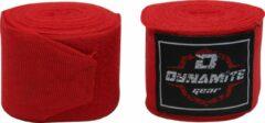 Dynamite Fight Gear Dynamite Boxing Bandage - Boxing Wraps - Boxing Bandages - Kickboxing bandage - 250cm/ 450cm - ROOD