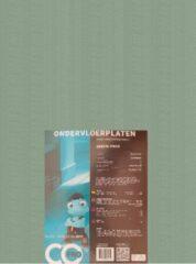 Exellent Ondervloer platen | Groene platen | ondertapijttegel|Softboard | dikte 7mm | 19dB | pak 7m2