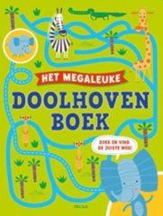 Deltas Het Megaleuke Doolhovenboek Junior Papier Groen