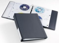 Durable 522758 CD/DVD-ordner 40 CDs/DVDs/Blu-rays Antraciet 10 stuk(s)