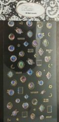 Korneliya 3D Nail Jewels XL- XL02 Galaxy Stones