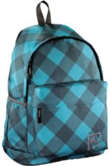 All Out Rucksack Luton Blue Dream Check All Out blue dream check