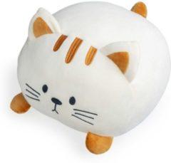 Creme witte Balvi kussen kat Kitty creme