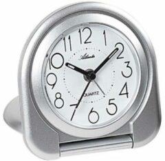 Atlanta Uhren 1909/19 Quartz Wekker Zilver
