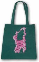 Anha'Lore Designs - Bessie - Exclusieve handgemaakte tote bag - Groen