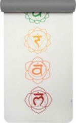 Yogamat pro art collection chakra snow/graphite Fitnessmat YOGISTAR