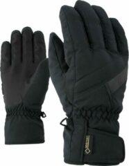 Zwarte Ziener Gapon GTX Heren Wintersporthandschoenen Maat 10