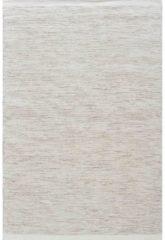 MOMO Rugs - Teppe White Naturel Vloerkleed - 200x300 cm - Rechthoekig - Laagpolig, Structuur Tapijt - Industrieel, Landelijk, Scandinavisch - Beige
