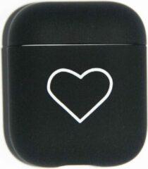 Zwarte Landlit Black Heart - AirPods Case - AirPods 1 en 2