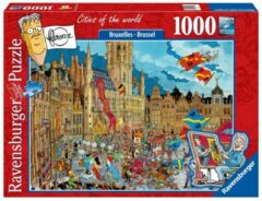 Ravensburger puzzel Fleroux Cities of the world: Brussel - 1000 stukjes
