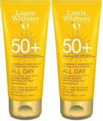 Louis Widmer Zonbescherming Sun All Day 50+ Duo Ongeparfumeerd 200 ml